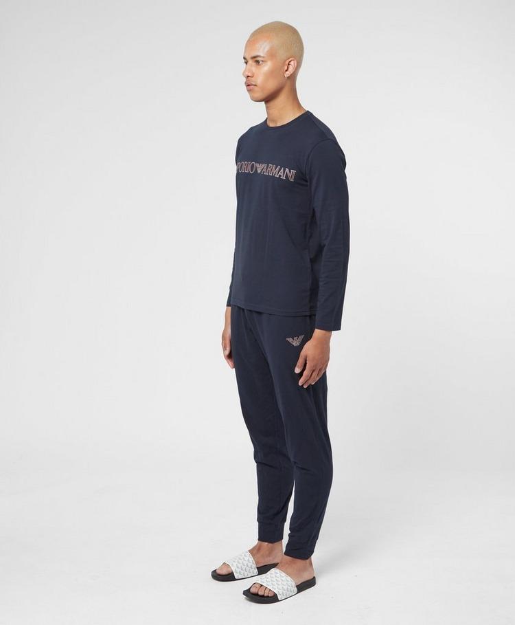 Emporio Armani Loungewear Mega Logo Pyjama Set