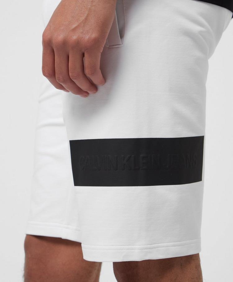Calvin Klein Jeans Blocking Badge Shorts