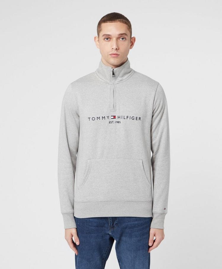 Tommy Hilfiger Flag Half Zip Sweatshirt