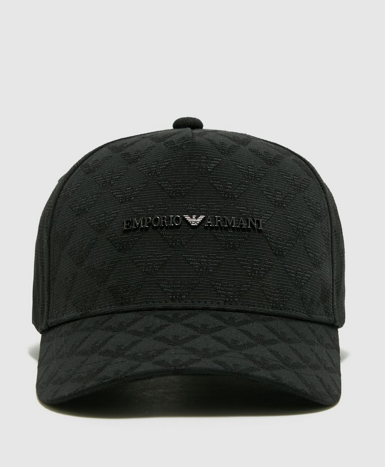 Emporio Armani Jacquard Eagle Cap