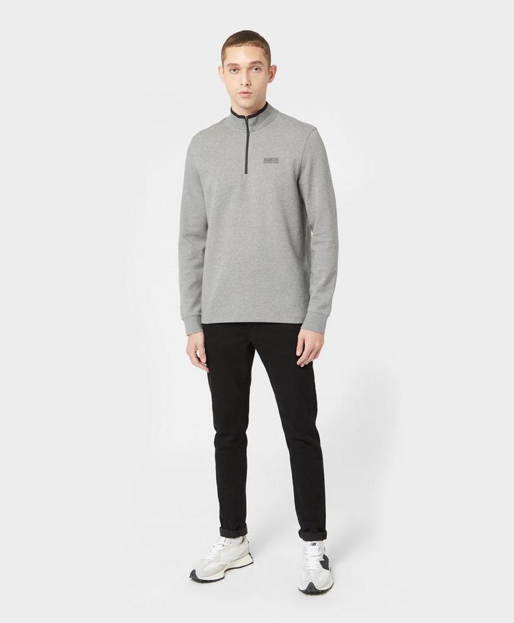 Barbour International Tipped Half Zip Sweatshirt