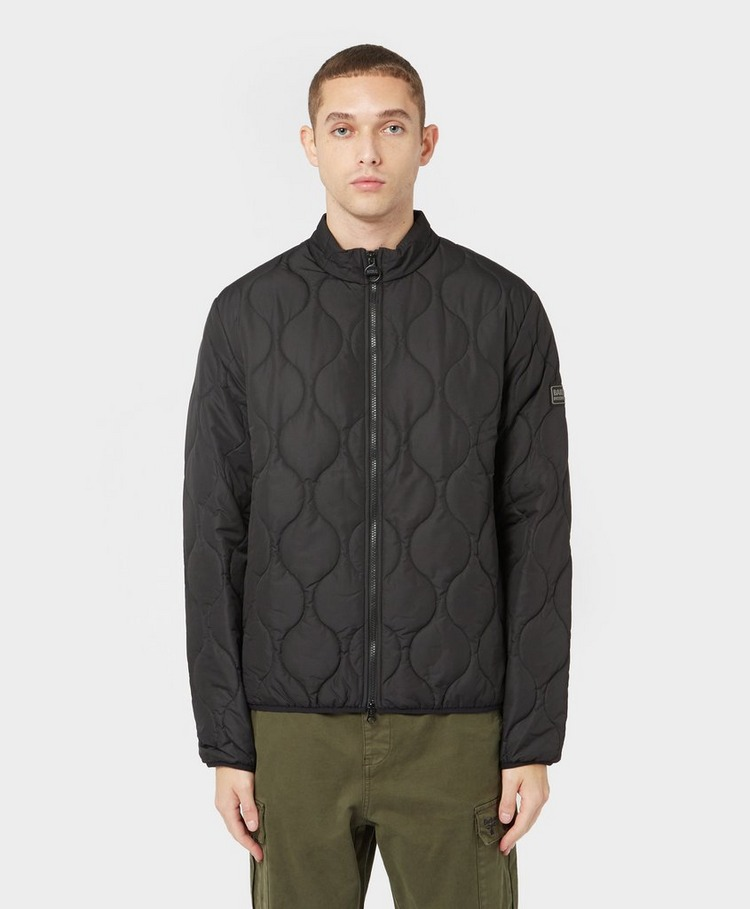 Barbour International Race Onion Quilted Jacket