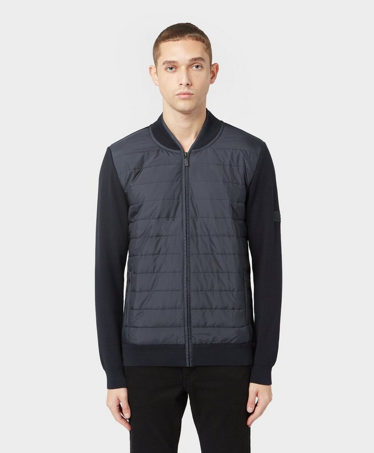 Barbour International Baffle Bomber Jacket