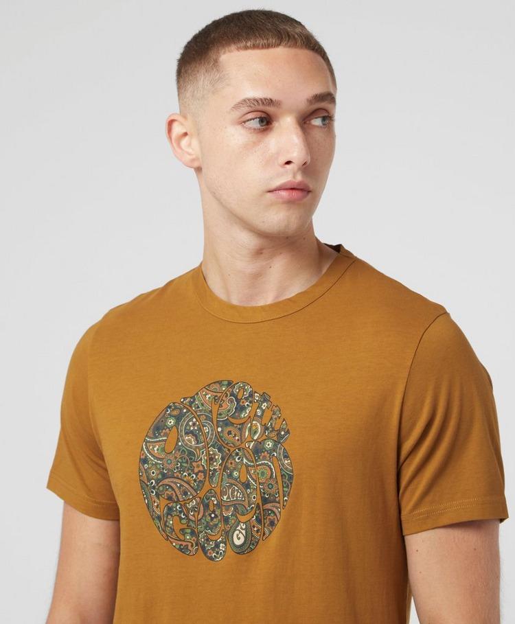 Pretty Green Wonderwall Paisley T-Shirt