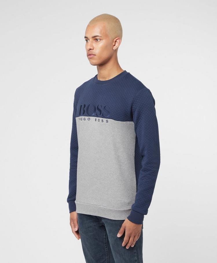 BOSS Limited Split Quit Sweatshirt