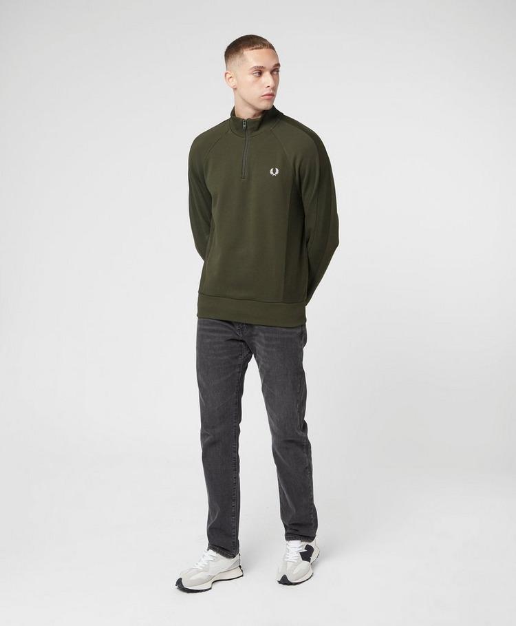 Fred Perry Revere Half Zip Sweatshirt