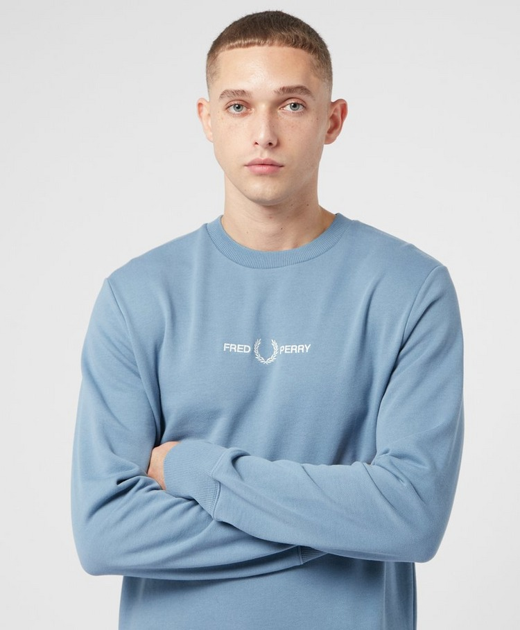 Fred Perry Centre Embroidered Sweatshirt