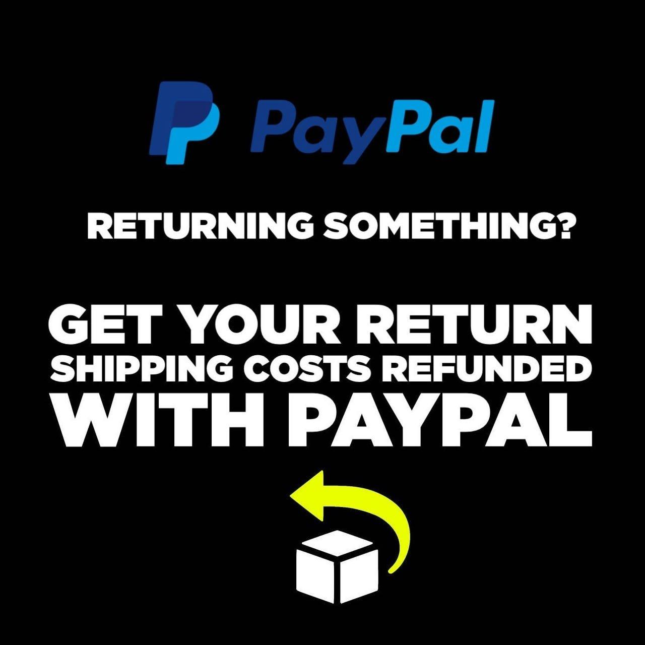 adidas return policy paypal