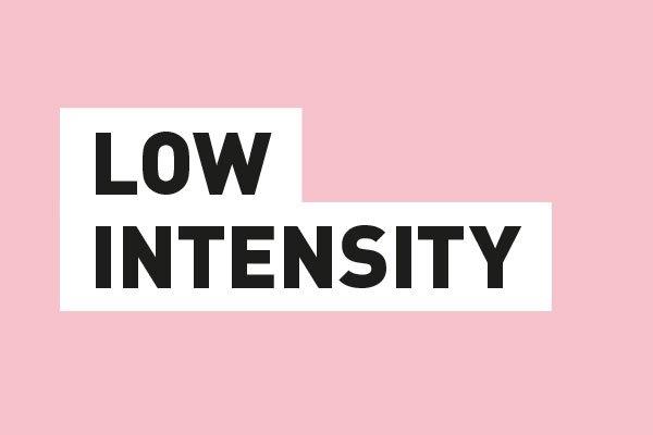 Sport bh low intensity