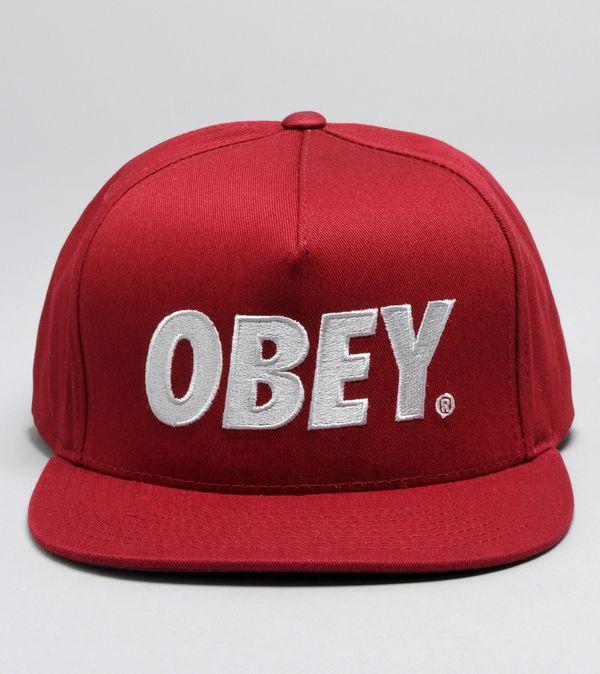 526803f43 Obey City Snapback Cap   Size?