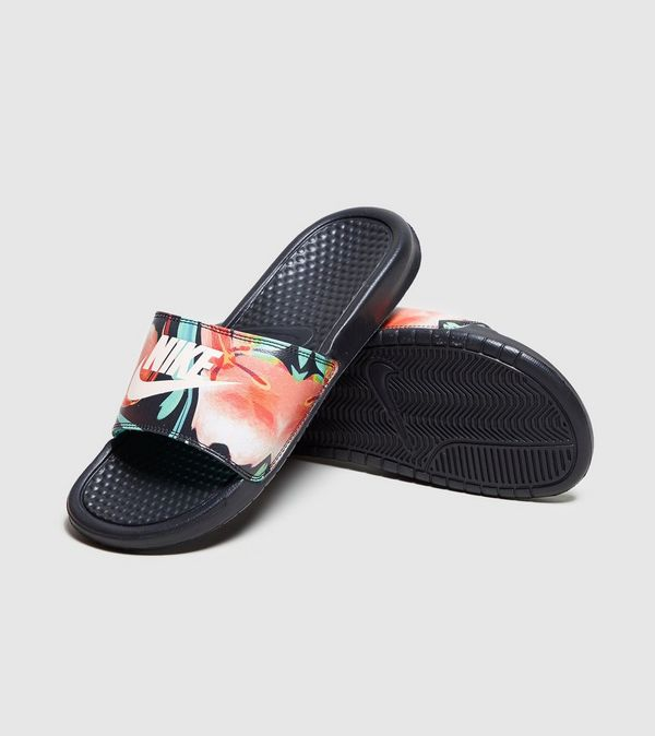 half off d1130 59272 Nike Benassi Just Do It Slides Women s