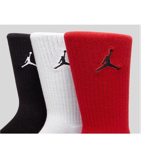 check out acc87 e3a86 Jordan 3 Pack Crew Sock