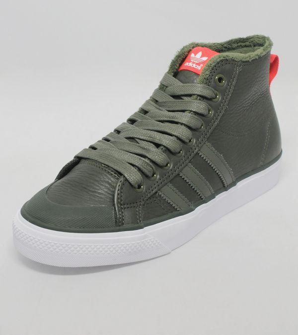 big sale 38940 17b8a adidas Originals Nizza Hi Leather