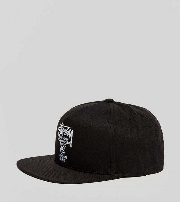 1e2e0ff738f Stussy World Tour Snapback Cap