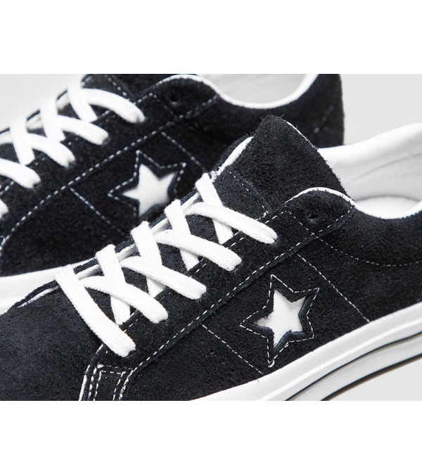 converse noire one star femme