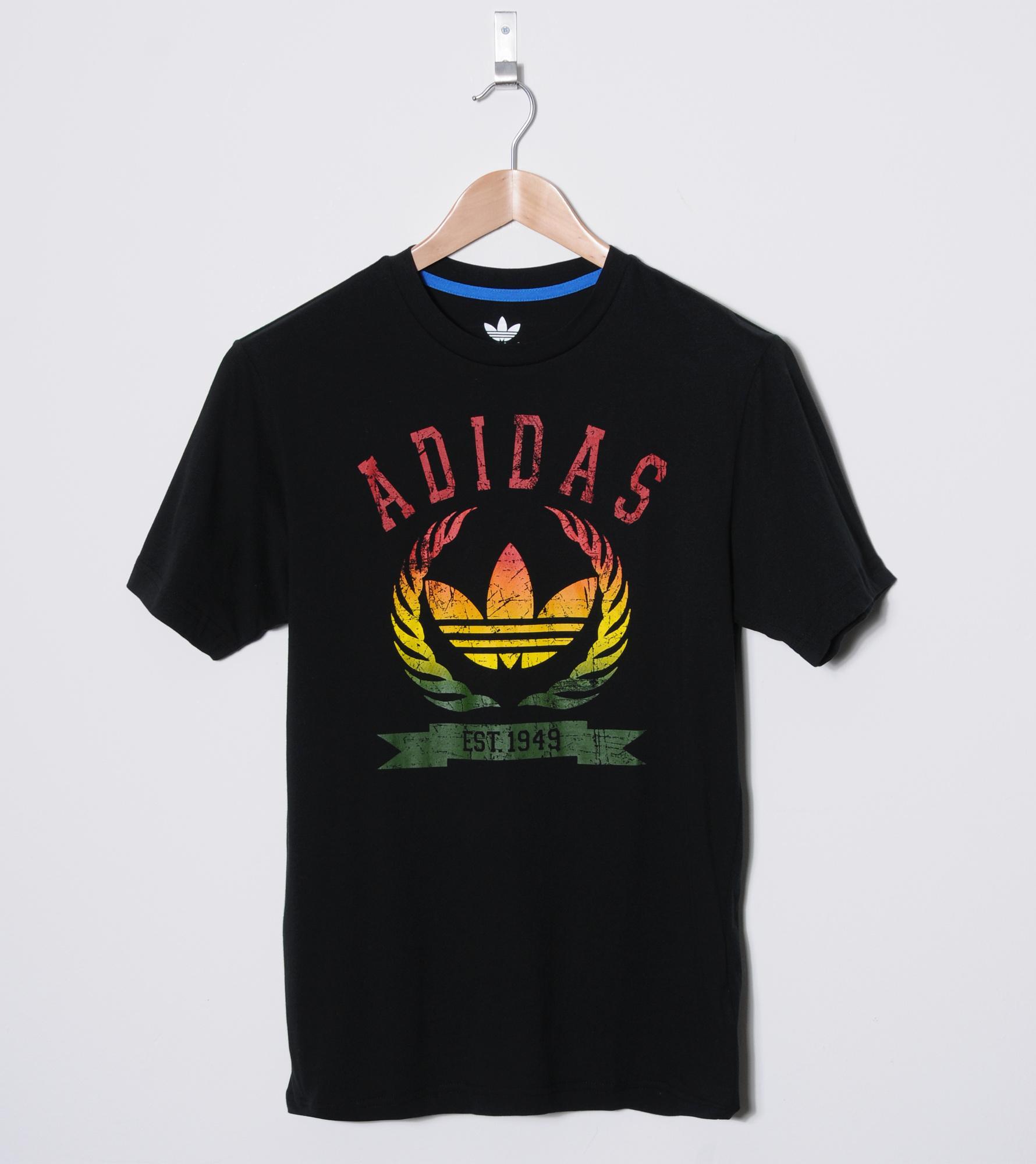 adidas originals rasta t shirt
