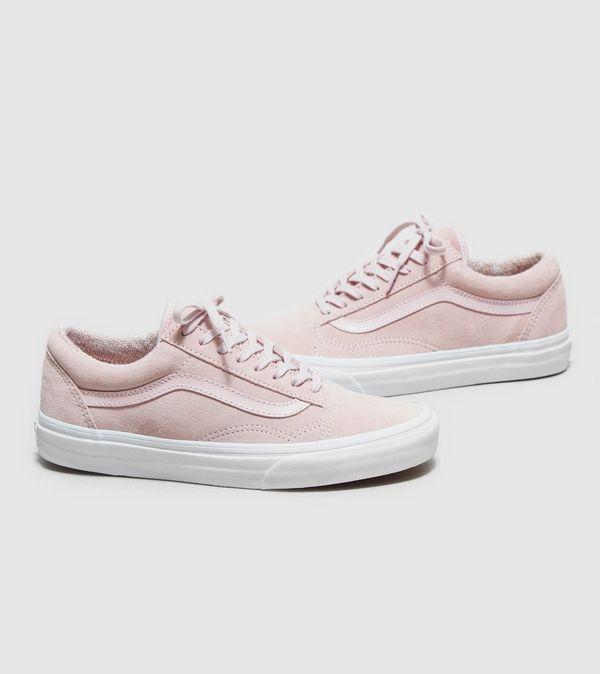 womens pink old skool vans