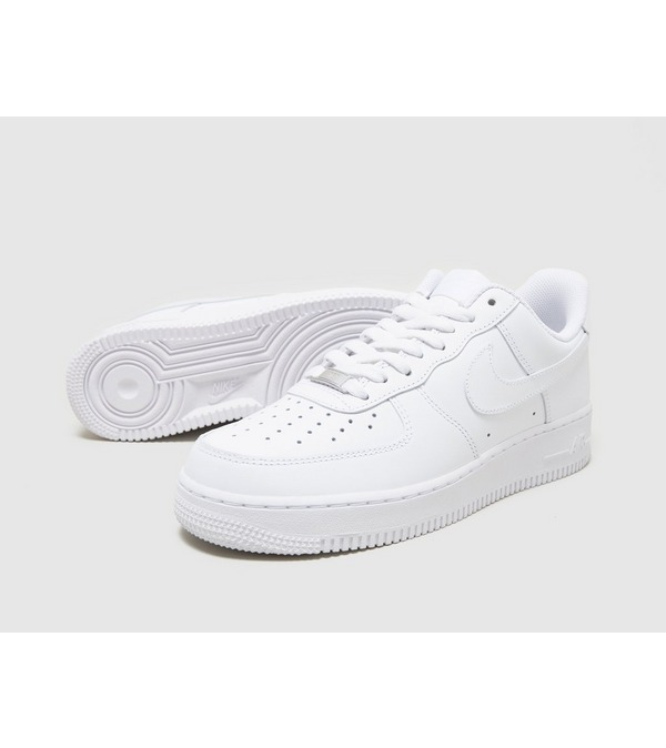 nike air force 1 low blanc or