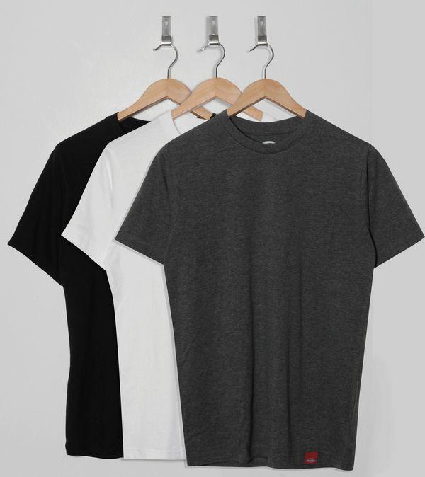 1c4bda3b8 Dickies Plain T-Shirt - 3 Pack   Size?