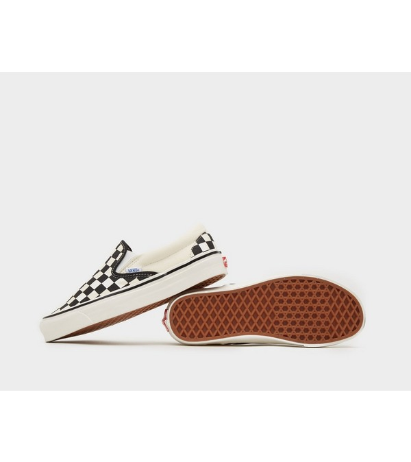 Vans Anaheim Checkboard Slip-On Dames
