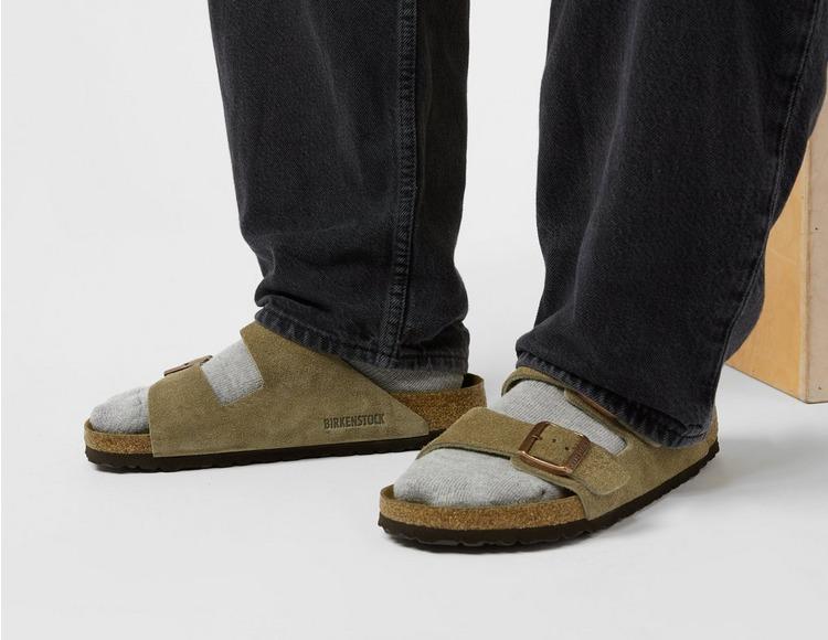 Birkenstock Arizona Suede Sandaler