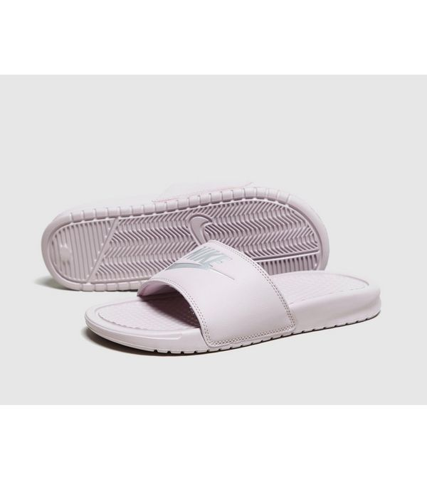 half off 67da5 5b6b9 Nike Benassi Just Do It Slides Women s