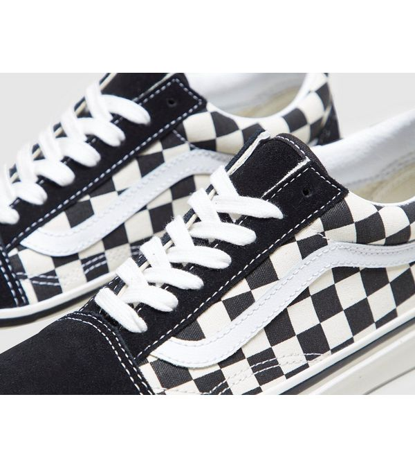 vans old skool dames checkerboard