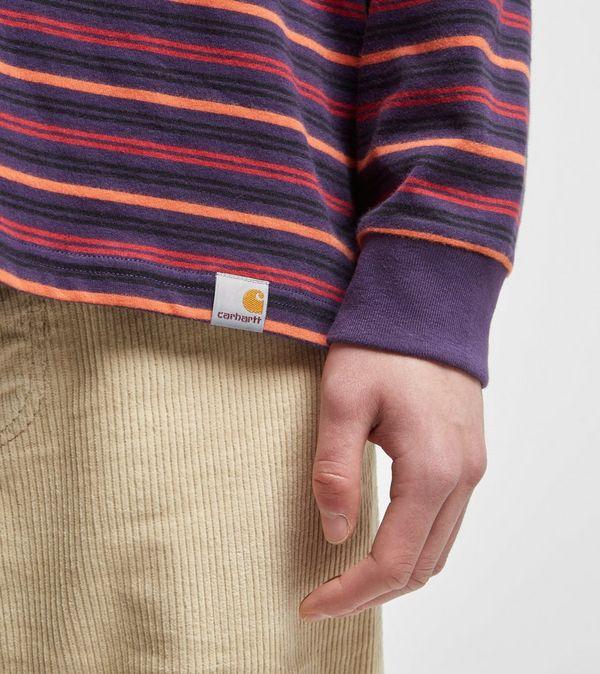 Carhartt WIP Korte Stripe Long Sleeve T-Shirt
