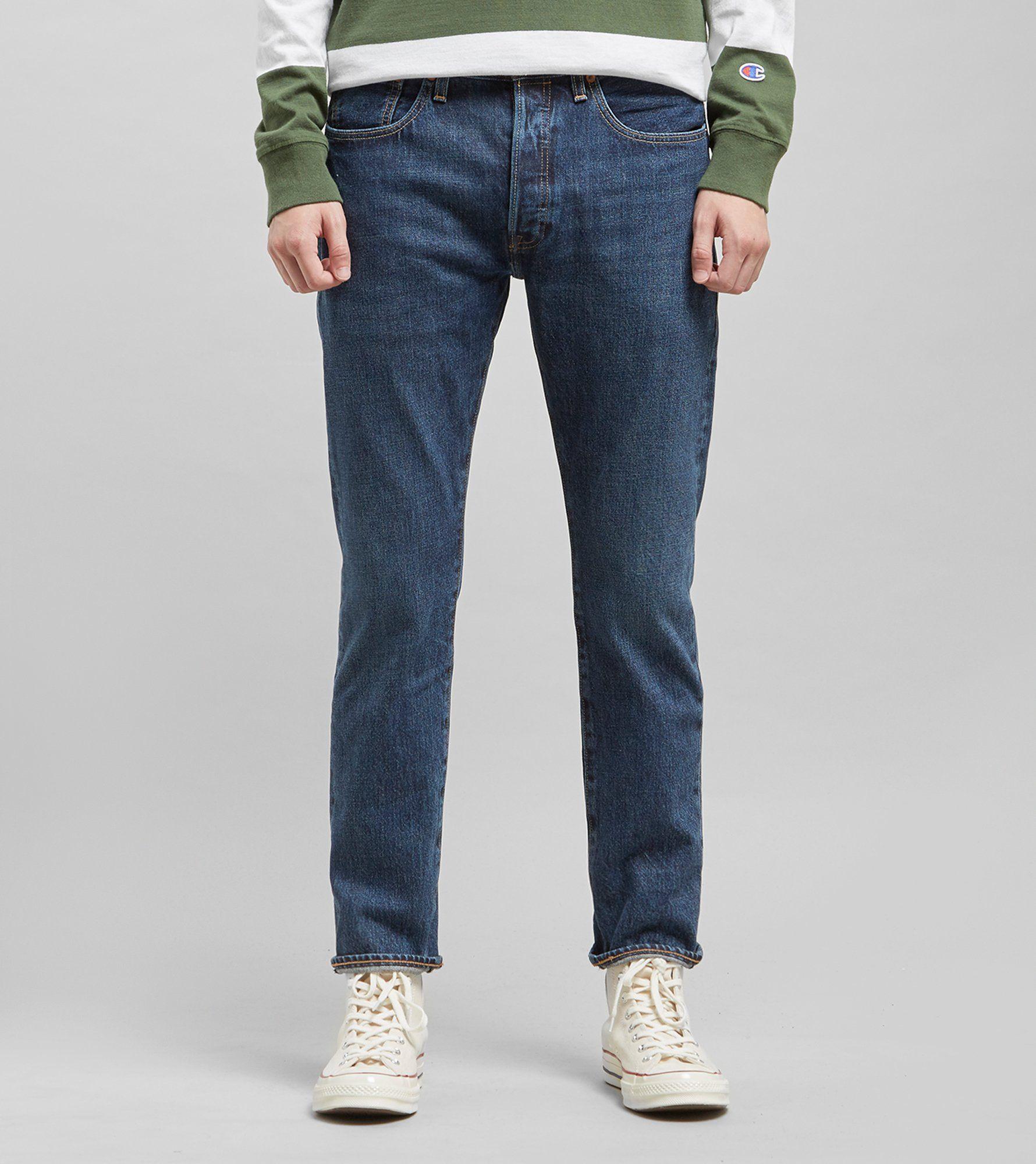 Levis 501 Skinny Warp Stretch Jeans