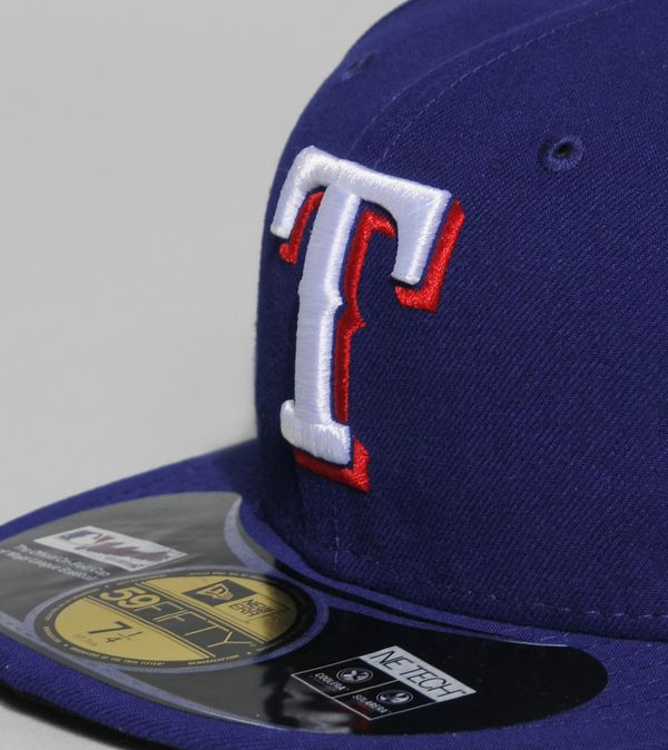 premium selection 2d447 faa26 New Era Authentic MLB Texas Rangers 59FIFTY Fitted Cap
