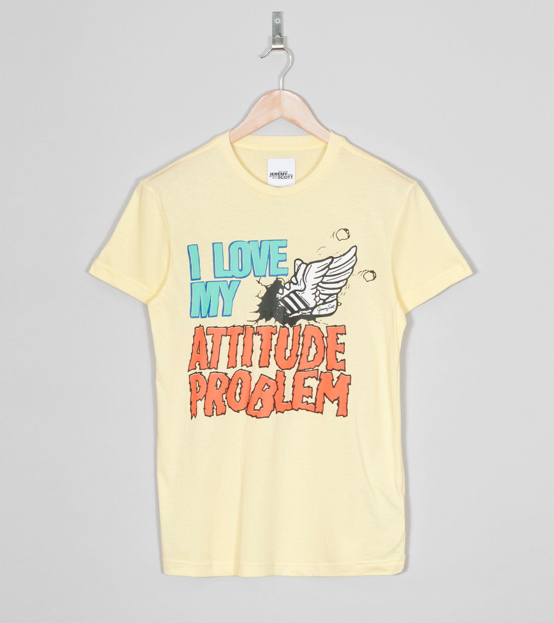 Jeremy T Scott Originals Adidas X Attitude ShirtSize rxdCBoe