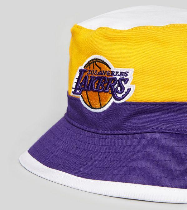 a19e0cc2 Mitchell & Ness LA Lakers Team Bucket Hat | Size?