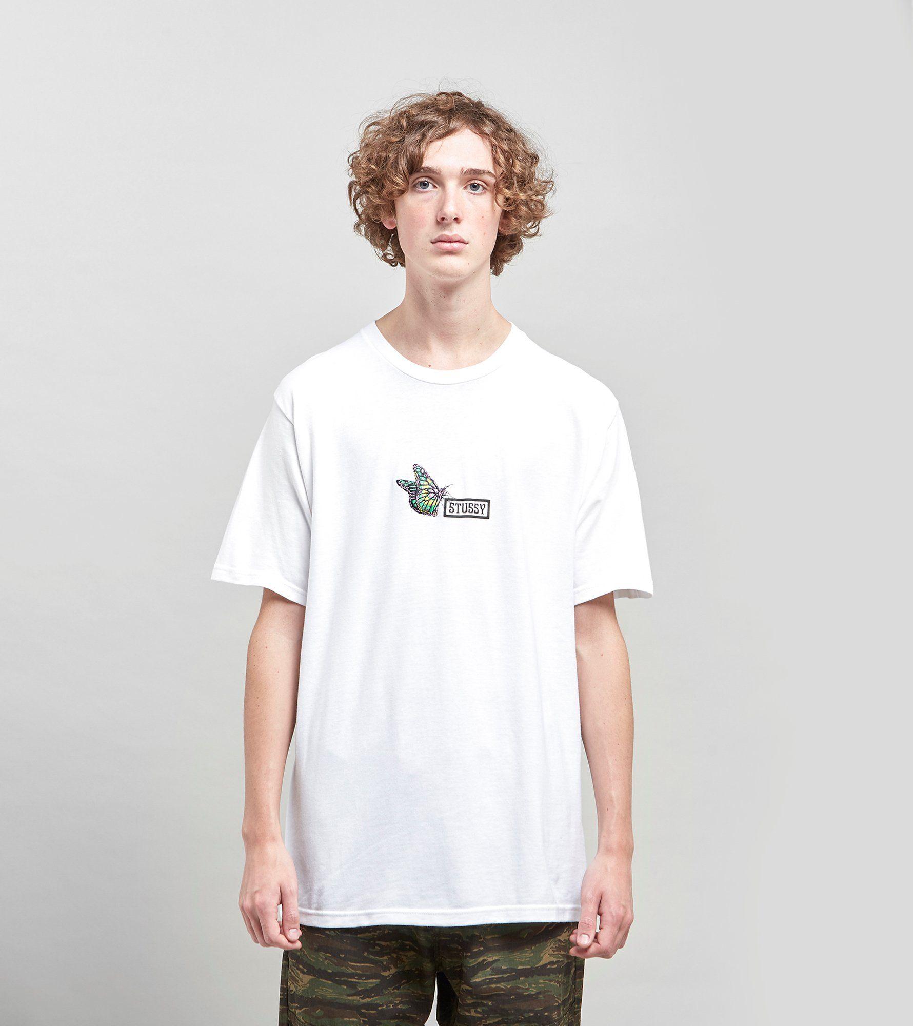 Stussy Butterfly T-skjorta