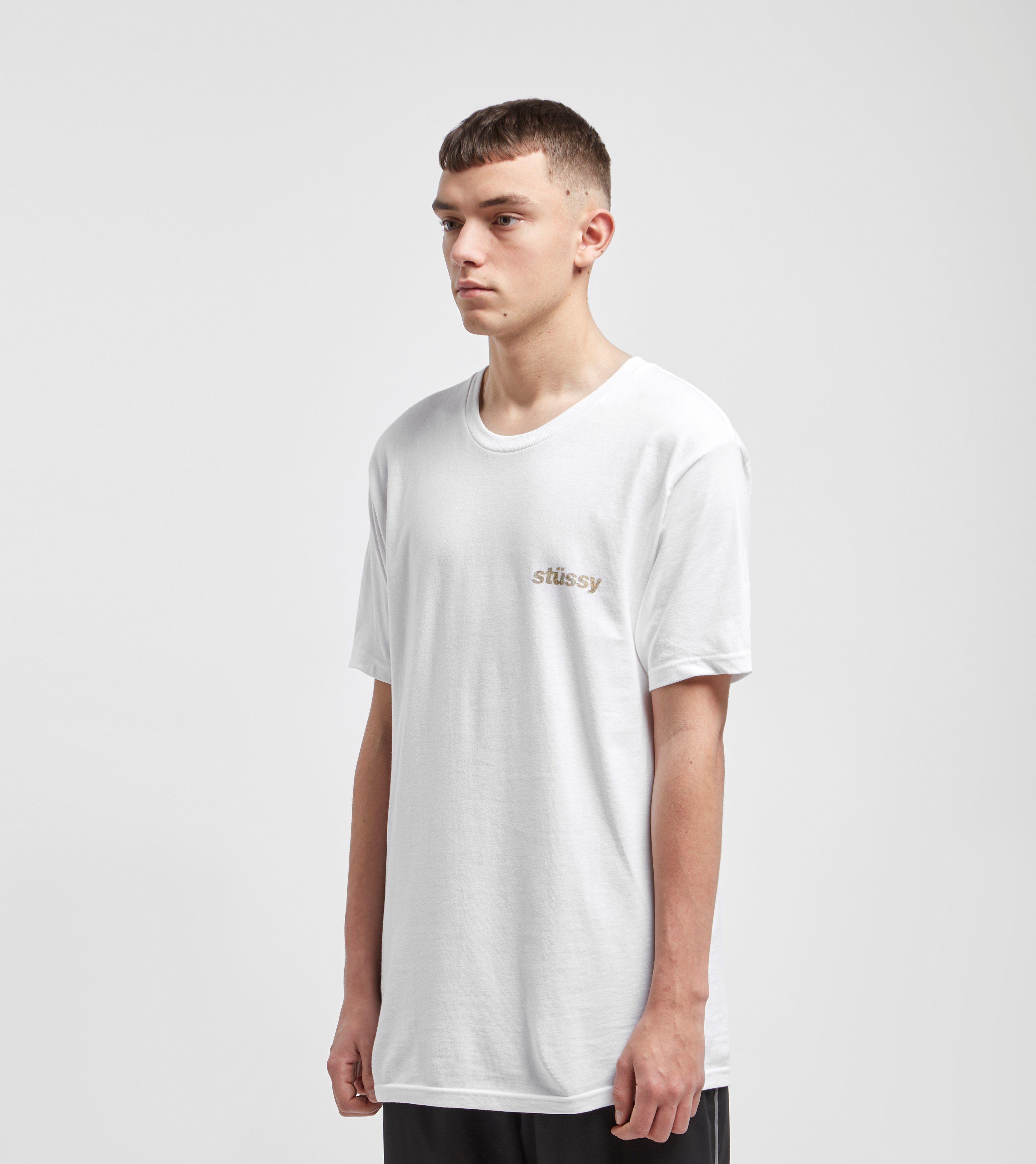 Stussy Camo Italic T-skjorta