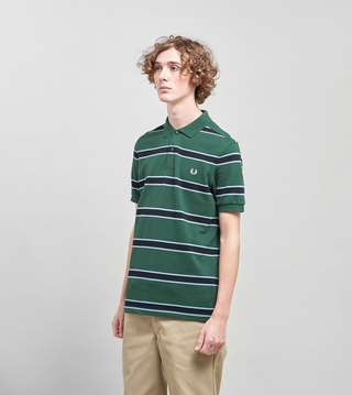 Fred Perry Stripe Polo size? Exclusive