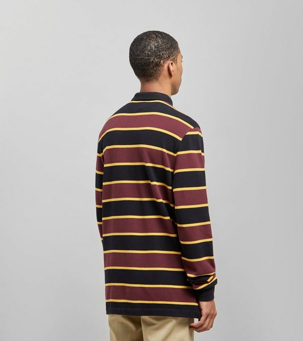 f437eef5a Fred Perry Stripe Long Sleeved Rugby Shirt - size? Exclusive   Size?