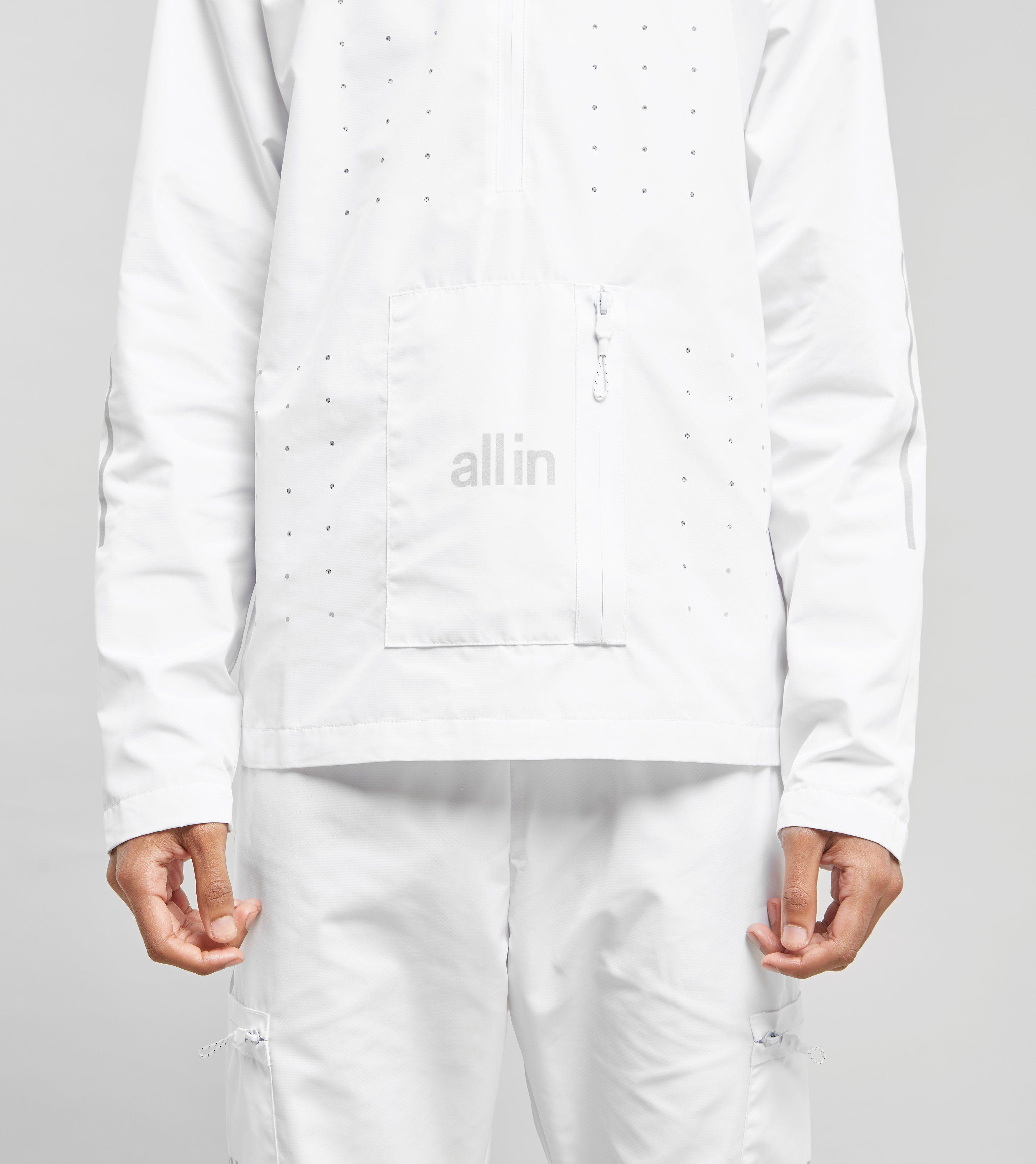 all in Tennis Half-Zip Jacket