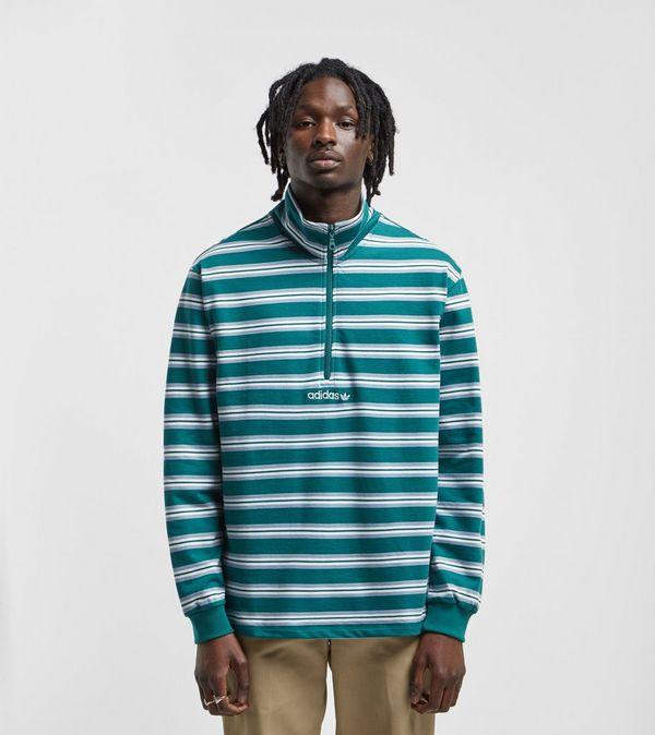 63d04ea757c adidas Originals St. Peter Half-Zip Sweatshirt - size  Exclusive
