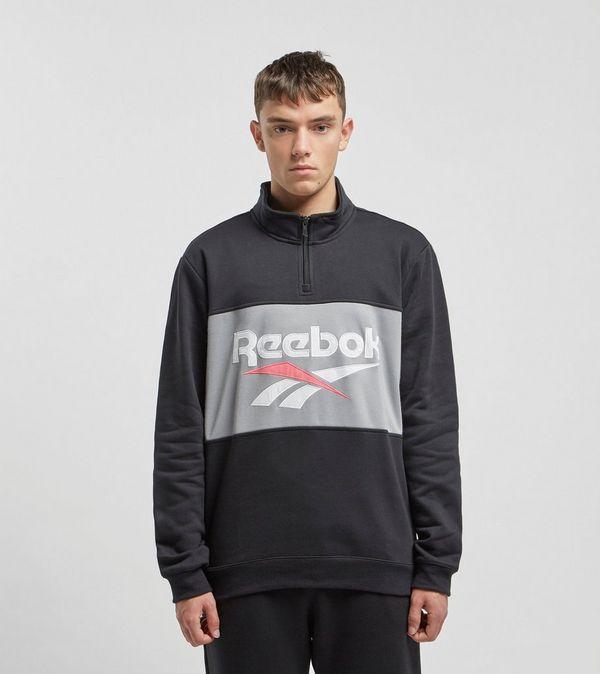 56d5db3eaa6 Reebok Classic Vector Quarter Zip Sweatshirt