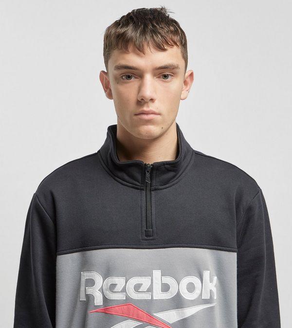 a999472642a1f Reebok Classic Vector Quarter Zip Sweatshirt