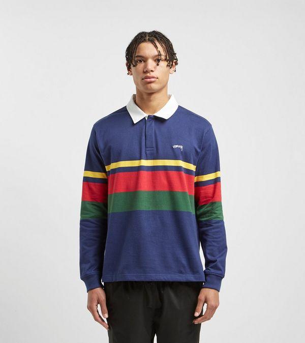 6e1924116ba Stussy Lucas Stripe Rugby Shirt   Size?
