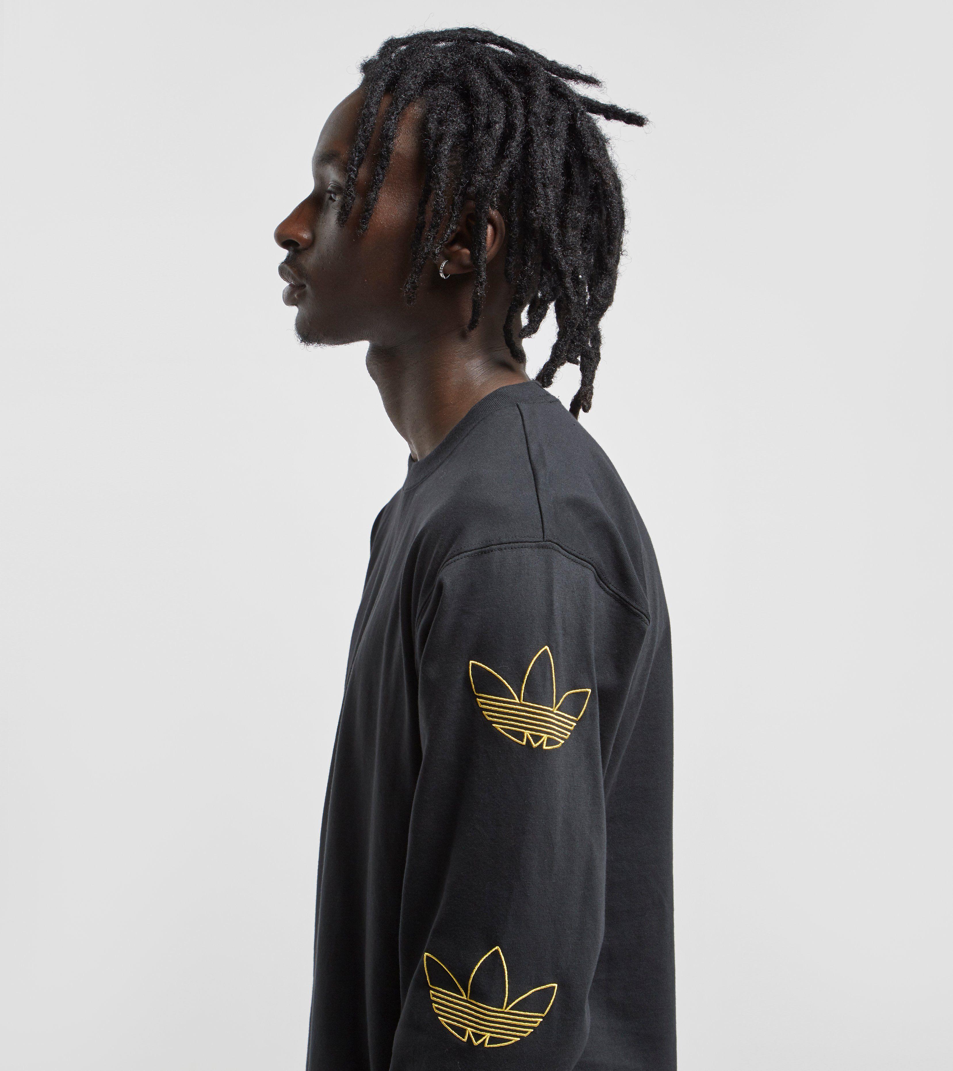 adidas Originals Trefoil Stack Long Sleeve T-Shirt
