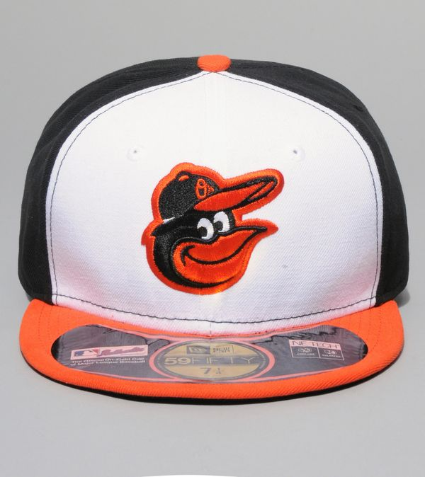huge selection of a9d6c 6a388 New Era Authentic MLB Baltimore Orioles Retro Cap