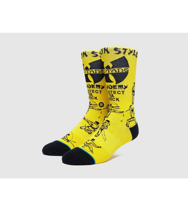 Stance Wu Tang Clan 'Protect Ya Neck' Sock