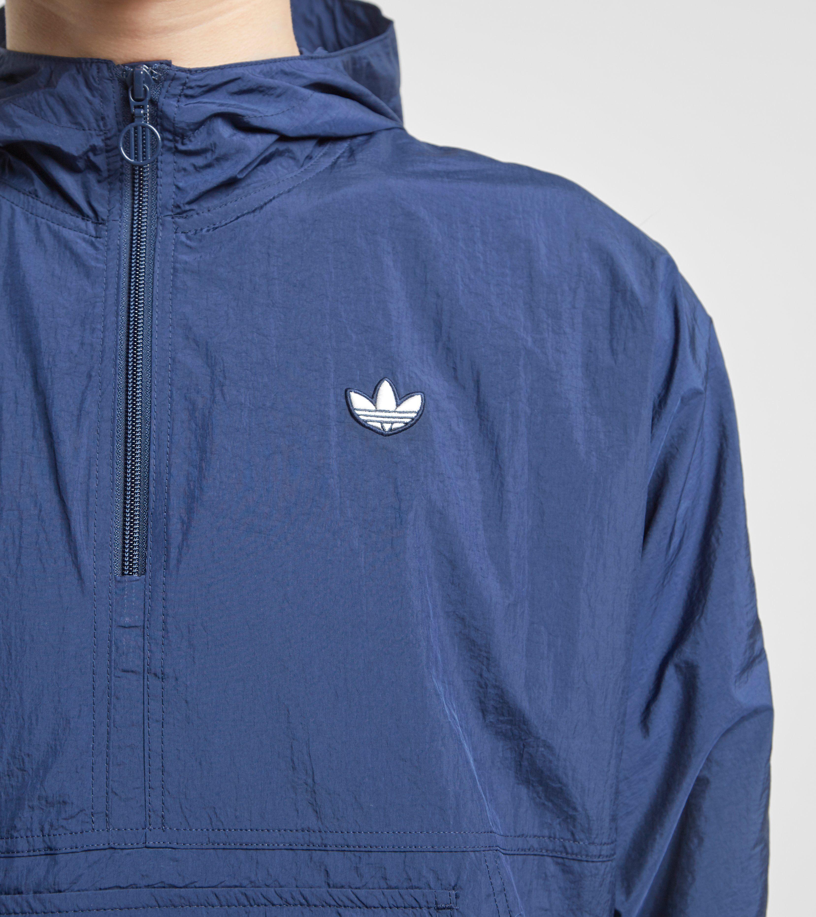 adidas Originals Lightweight Half-Zip Pop-Over Jacket