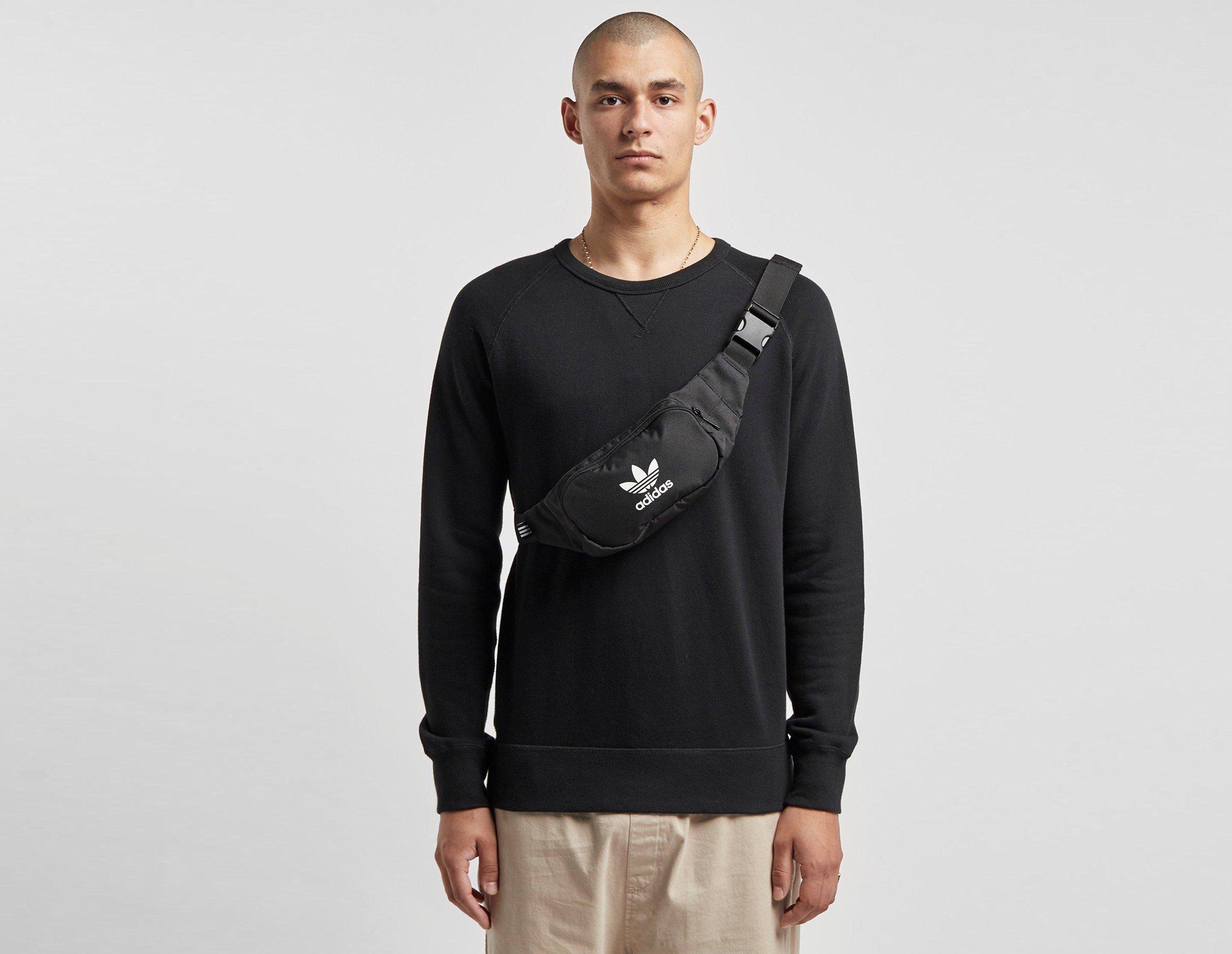 adidas Originals trefoil bumbag in black