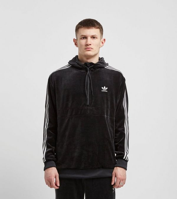 buy online 4f4ee 3fdb2 adidas Originals Cozy 1 2 Zip Overhead Hoodie   Size