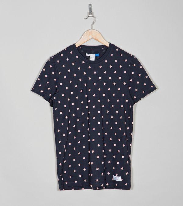 44f0d31cd48784 adidas Originals Blue Tango T-Shirt | Size?
