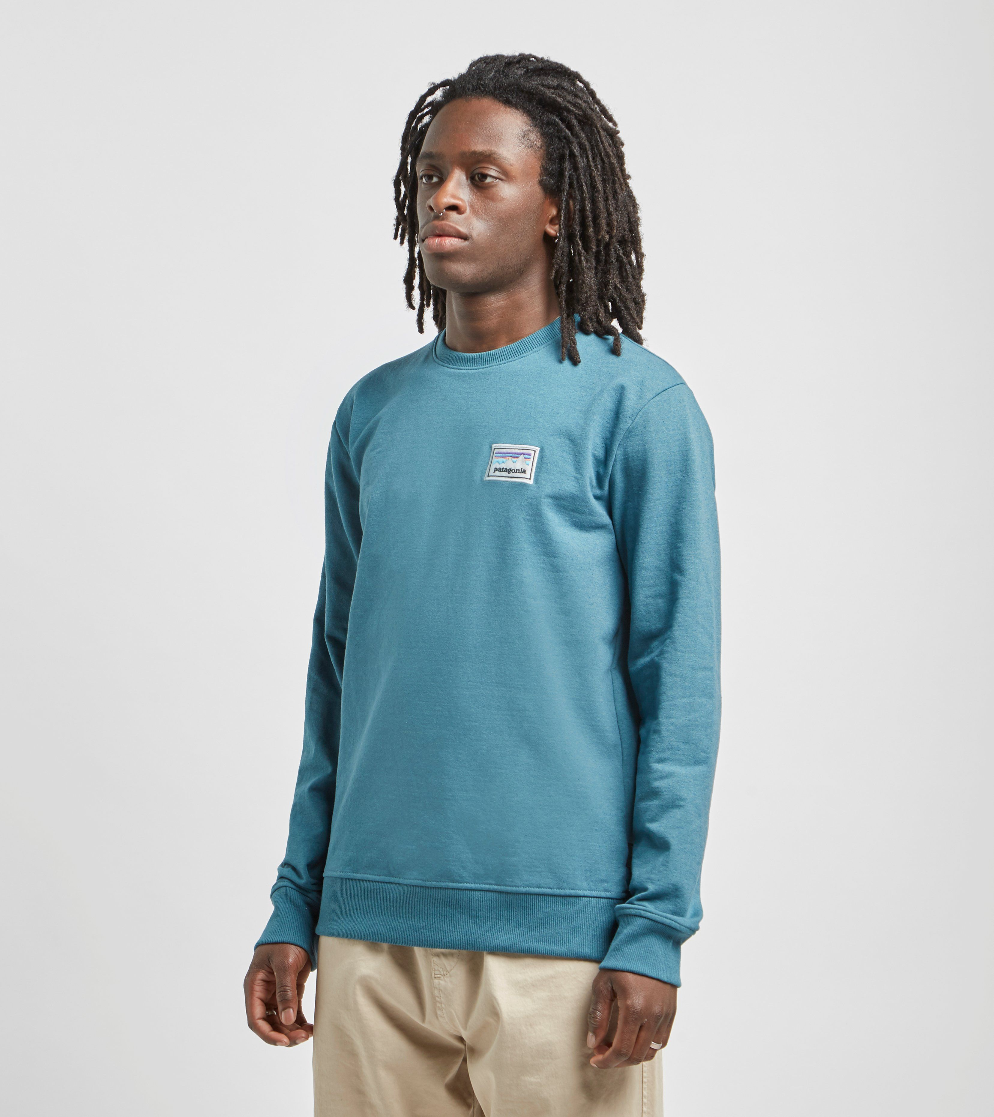 Patagonia Shop Sticker Crewneck Sweatshirt