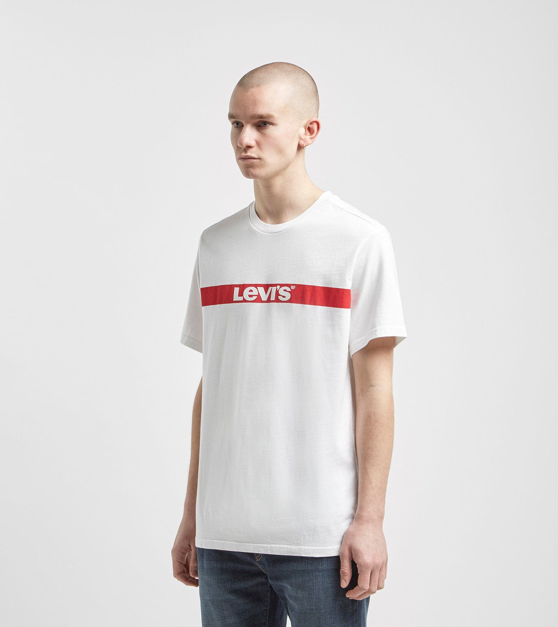 Levis Oversized Bar Logo Short Sleeve T-Shirt
